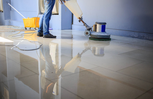 Floor-waxing-and-stripping